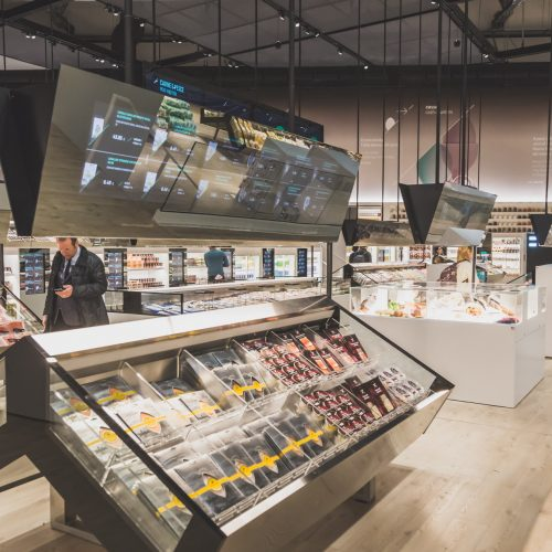 Supermarket of the future.